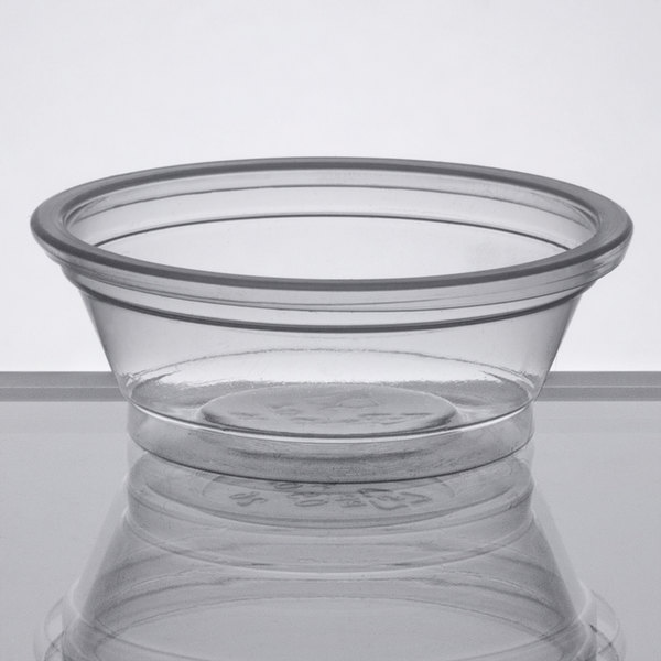 679e7de188b Help control portion sizes and costs with the Choice 0.5 oz. clear plastic  souffle cup / portion cup.