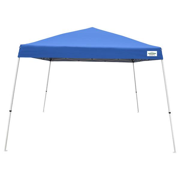 Caravan Canopy 21207800020 V-Series 2 12u0027 x 12u0027 Blue Slant Leg Instant Canopy  sc 1 st  WebstaurantStore & Canopy 21207800020 V-Series 2 12u0027 x 12u0027 Blue Slant Leg Instant Canopy