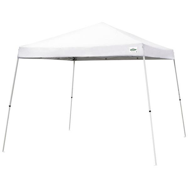 Caravan Canopy 21207800010 V-Series 2 12' x 12' White Slant Leg Instant  Canopy