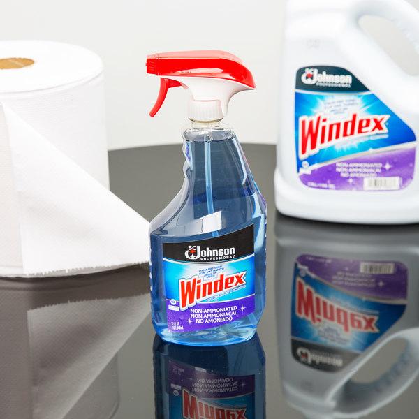SC Johnson Windex® 697259 32 oz. Non-Ammoniated Glass Cleaner - 12/Case Main Image 3