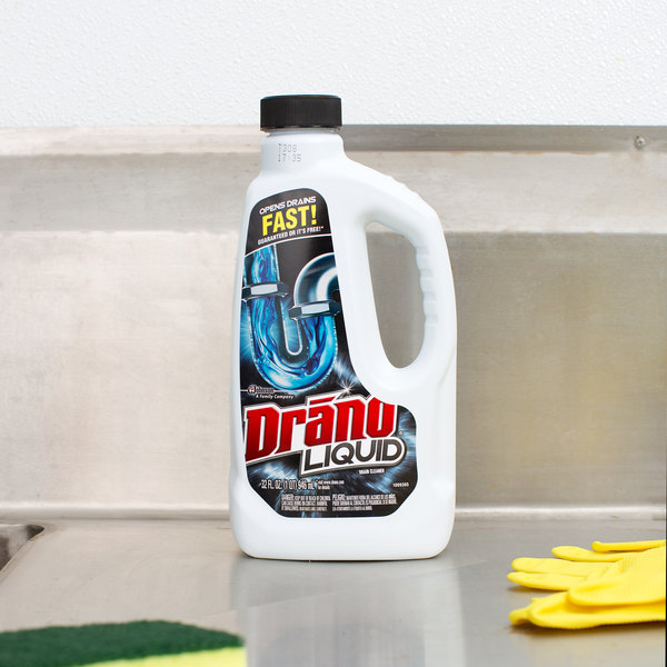 Drano Didn T Work Bathroom Sink: SC Johnson Drano® 32 Oz. Liquid Drain Cleaner