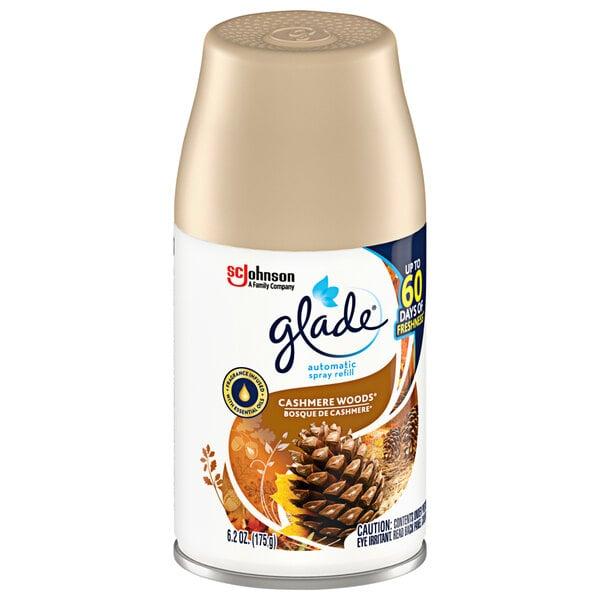 SC Johnson Glade® 310903 6.2 oz. Cashmere Woods® Air Freshener Automatic Spray Refill Main Image 1