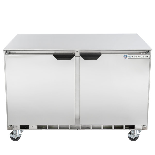 "Beverage-Air UCF48AHC-23 48"" Low Profile Undercounter Freezer"