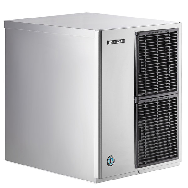 "Hoshizaki KM-340MAH Slim-Line Series 22"" Air Cooled Crescent Cube Ice Machine - 387 lb. Main Image 1"