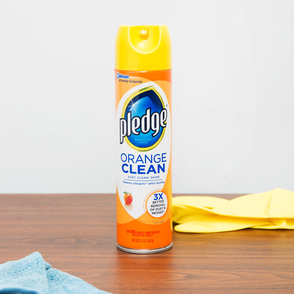 Orange Clean Aerosol Furniture Spray Image Preview