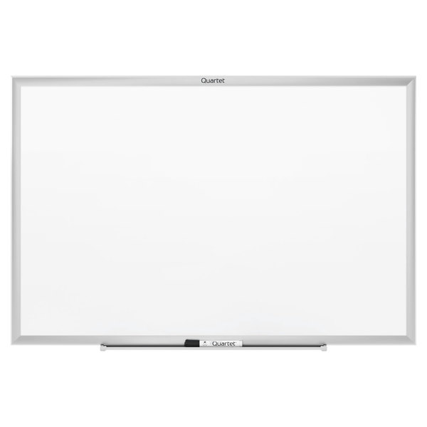 "Quartet SM533 Classic 24"" x 36"" Magnetic Whiteboard with Silver Aluminum Frame Main Image 1"
