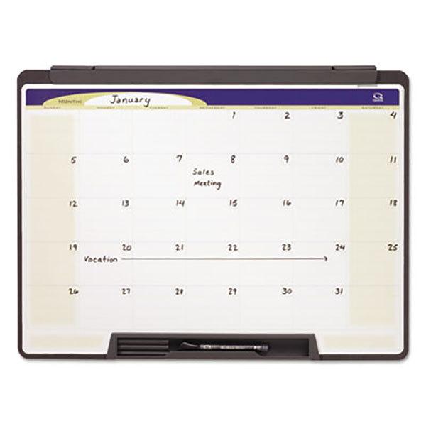 Quartet Mmc25 Motion 18 X 24 Portable Monthly Calendar Whiteboard