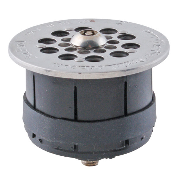 """FMP 102-1165 Guardian Hybrid 2"""" Drain-Lock Floor Sink Strainer with 2 3/8"""" Round Top Plate Main Image 1"""