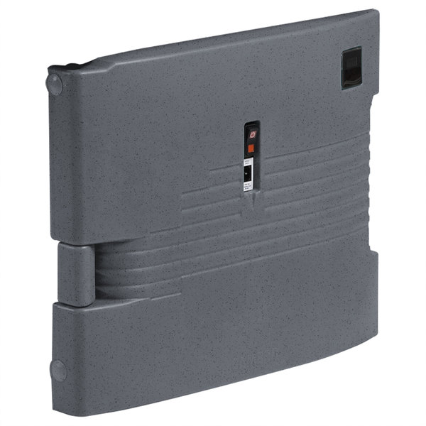 Cambro UPCHTD1600191 Granite Gray Replacement Heated Top Door for Camcarrier