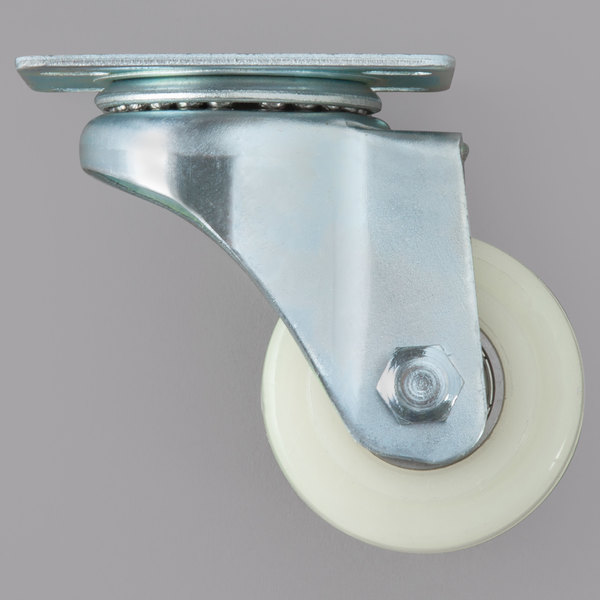 "Avantco 19354144 2"" Swivel Plate Caster"