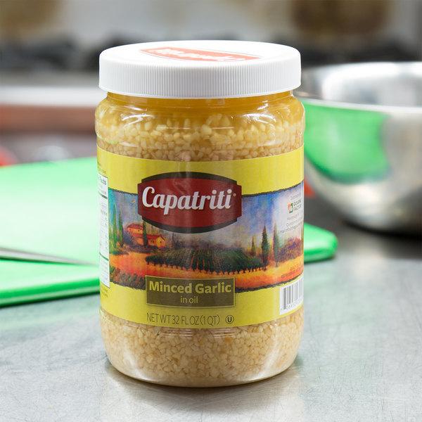 32 oz. Minced Garlic in Oil