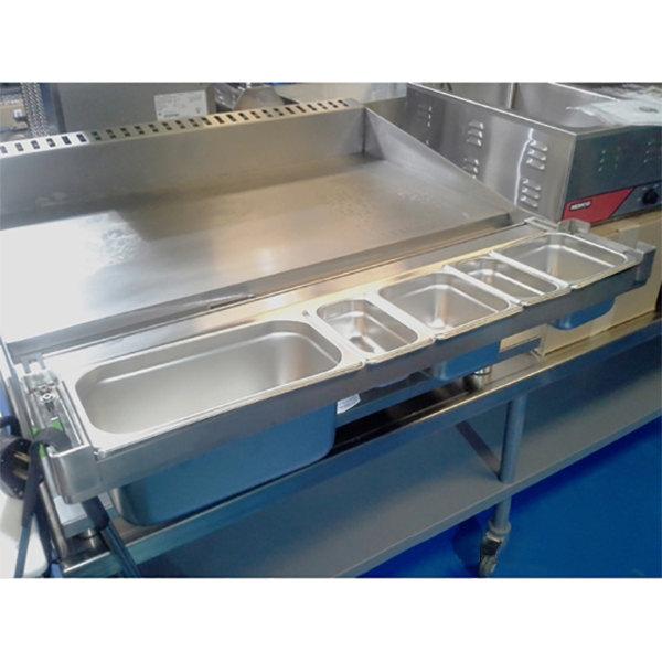 """FMP 280-2203 Universal 36"""" Griddle Condiment Rail"""