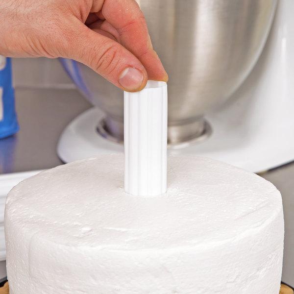 Wilton 303-4005 Hidden Cake Pillars - 4/Pack