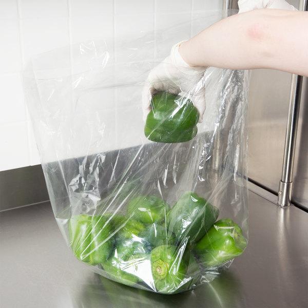 """Elkay Plastics P12G108024 Plastic Food Bag 10"""" x 8"""" x 24"""" - 500/Box"""
