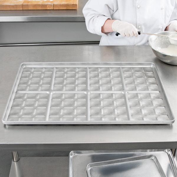 Chicago Metallic 40434 96 Mold Glazed Customizable Slider Bun Pan