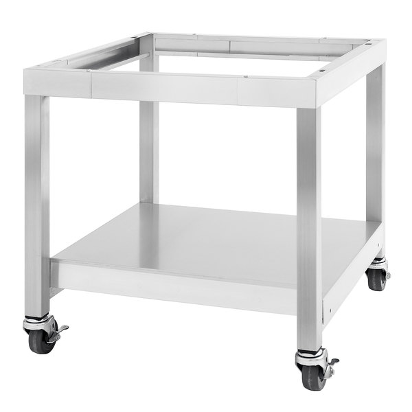 """Garland SS-CSD-36 Designer Series 36"""" Range Match Equipment Stand with Casters Main Image 1"""