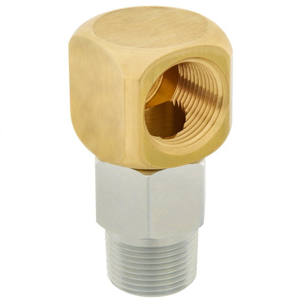 """T&S AG-6E 1"""" Swivelink Gas Appliance Connector Main Image 1"""