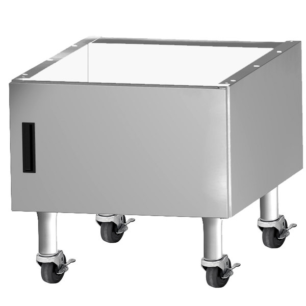 "Garland G36-BRL-CAB G Series 36"" Range Match Charbroiler Cabinet with Casters Main Image 1"