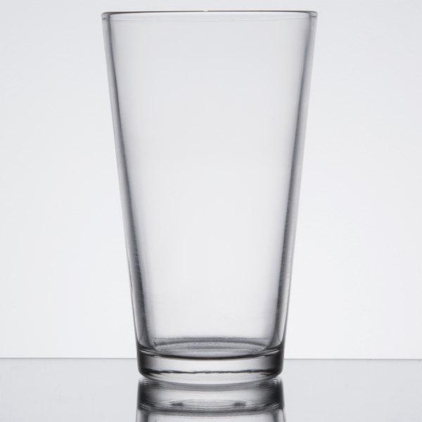 18431971c7d3 Choice 16 oz. Customizable Pint Glass / Mixing Glass - 24/Case