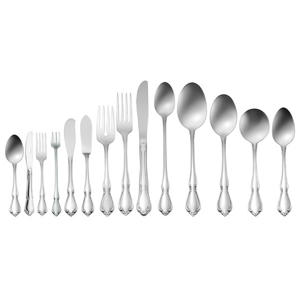 Chateau Flatware Oval Soup Spoon Case of 1 Dozen