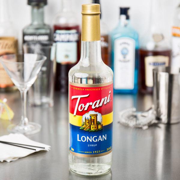 Torani 750 mL Longan Flavoring Syrup Main Image 3