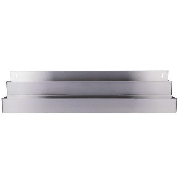 Regency 42 inch Stainless Steel Double Tier Speed Rail