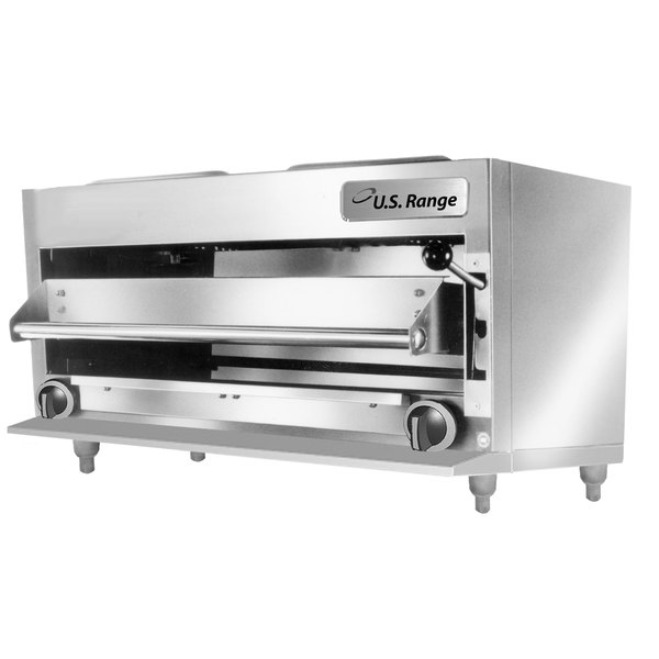 us range uir36c natural gas 34 countertop infrared salamander broiler 40000 btu - Salamander Kitchen