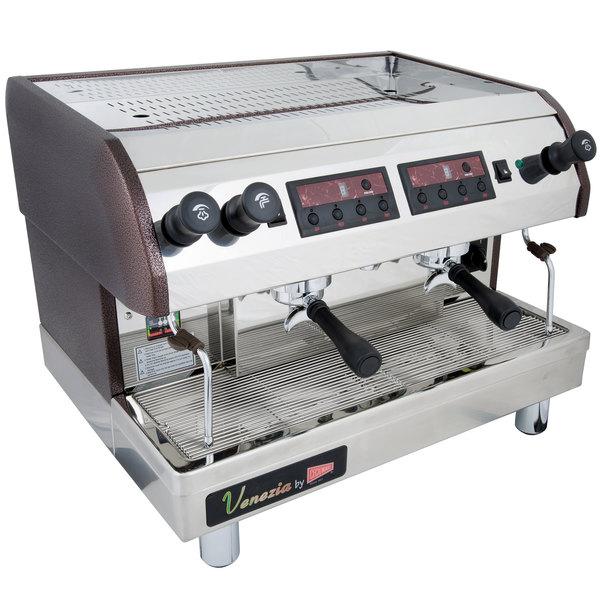 Cecilware ESP2-220V Venezia II Two Group Espresso Machine 240V