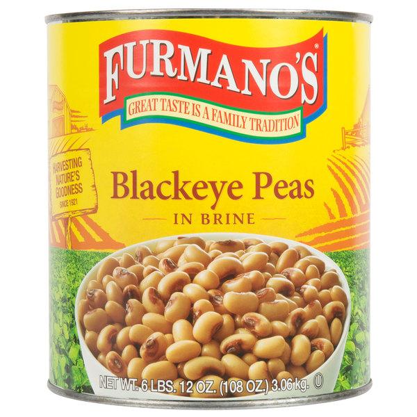 Furmano S 10 Can Black Eye Peas