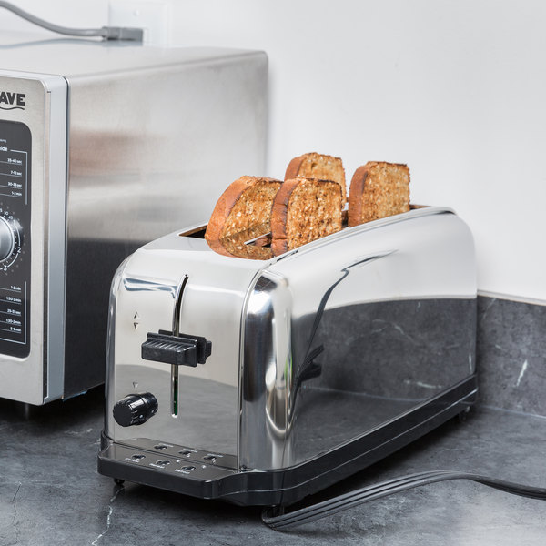 Waring WCT704 4 Slice Commercial Toaster NSF
