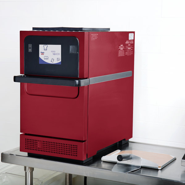 Merrychef eikon e2s Red High-Power High-Speed Accelerated Cooking Countertop Oven - 208/240V Main Image 5