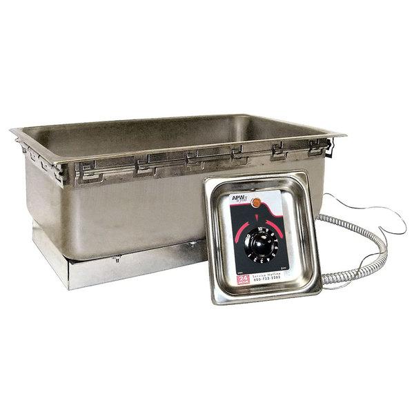 APW Wyott TM-90 UL Uninsulated Drop In Food Warmer - UL Listed, 208/240V
