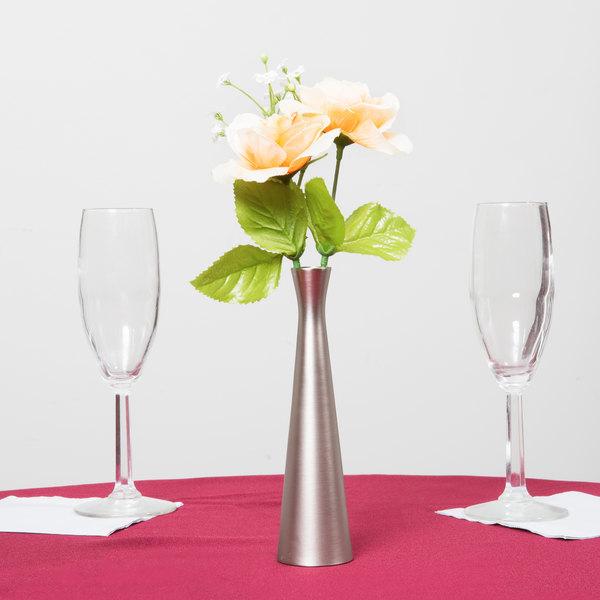 Metal Flower Vase Tablecraft 267 6 1 2 Metal Hourglass Bud Vase