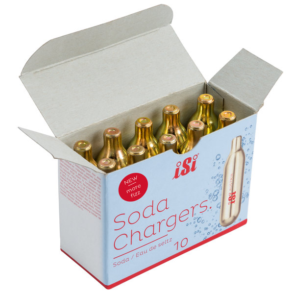 iSi 499 CO2 Soda Chargers - 10/Box