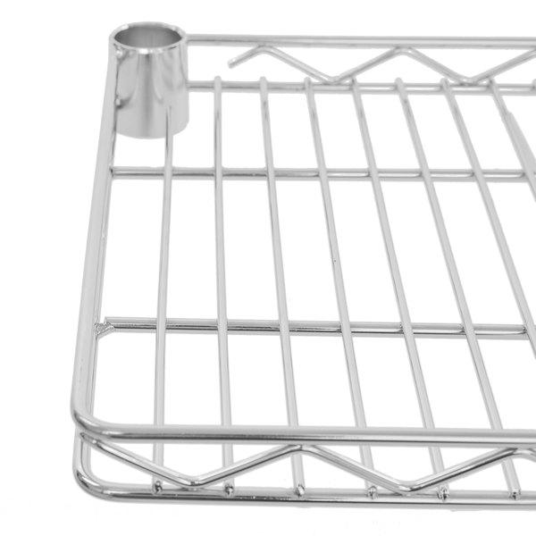 "Regency 12"" x 48"" NSF Chrome Wire Cantilever Shelf"