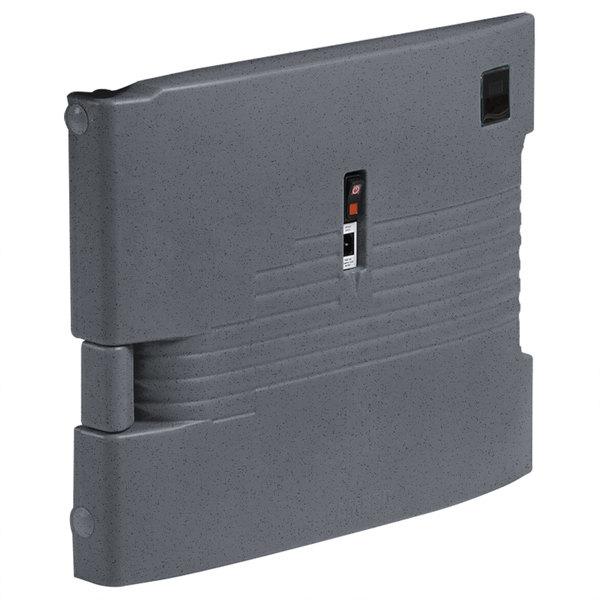Cambro UPCHBD1600191 Granite Gray Heated Retrofit Bottom Door for Cambro Camcarrier - 110V