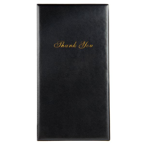 856d43eda18 Choice Black Guest Check Presenter - 12/Pack