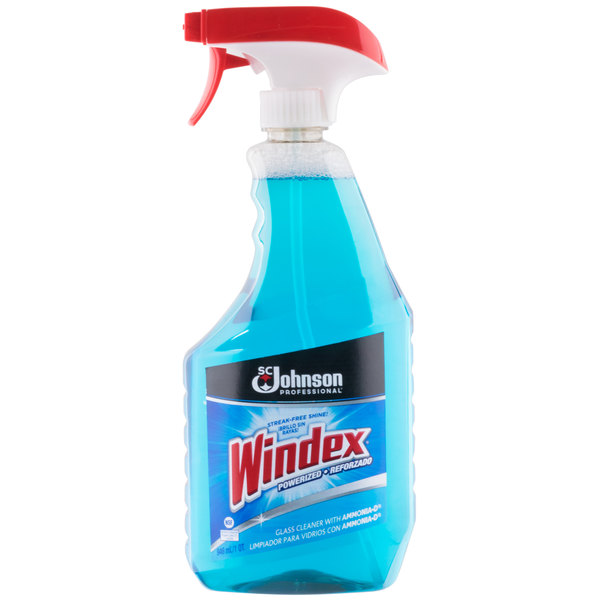 SC Johnson Windex® 695155 Ammonia-D 32 oz  Glass and Multi-Surface Spray  Cleaner
