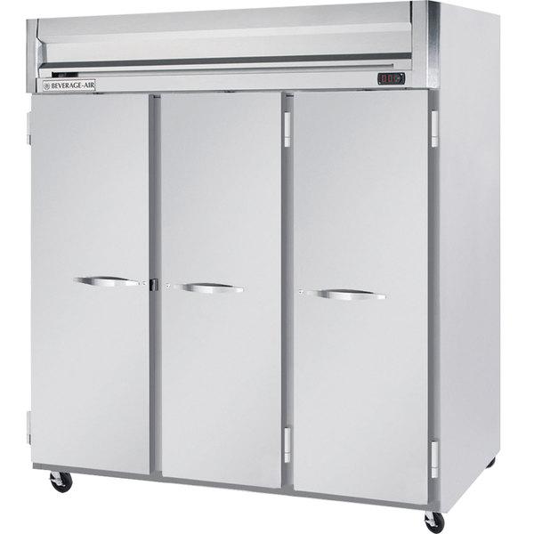 "Beverage-Air HRP3-1S Horizon Series 78"" Solid Door Reach-In Refrigerator Main Image 1"