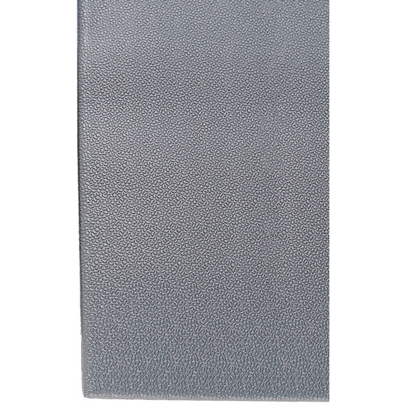 "Cactus Mat 1025R-E6P Tredlite 6' Wide Gray Pebbled Vinyl Anti-Fatigue Mat - 3/8"" Thick"
