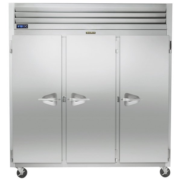 """Traulsen G31010 77"""" G Series Solid Door Reach-In Freezer with Left / Right / Right Hinged Doors"""