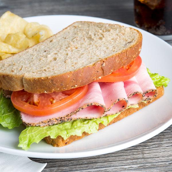 Berks 6.5 lb. Square Peppered Ham - 2/Case Main Image 6