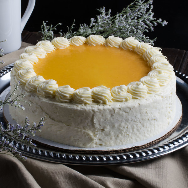 "Pellman 9"" Lemon Torte - 4/Case"