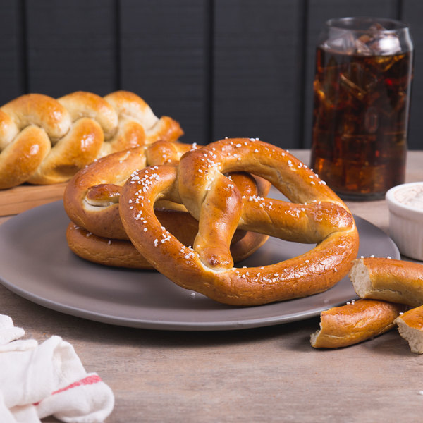 Dutch Country Foods 4 oz. Soft Pretzels - 48/Case Main Image 4