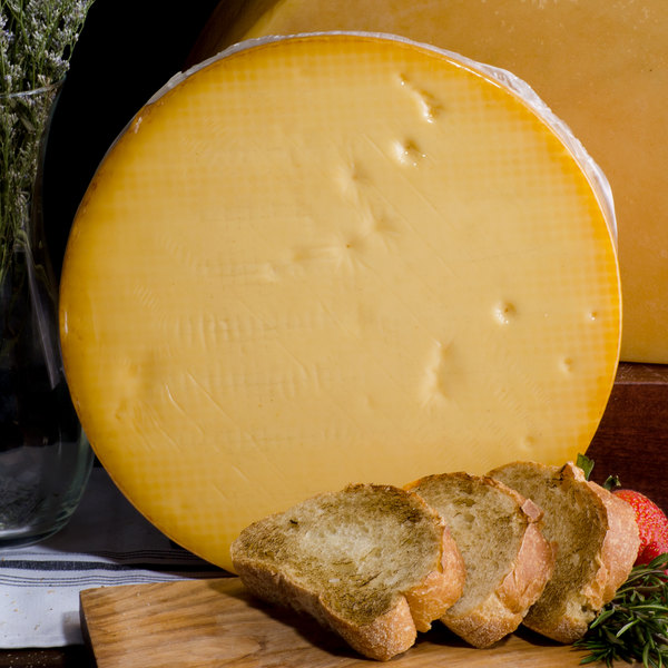 5 lb. Smoked Natural Gouda Cheese Halved