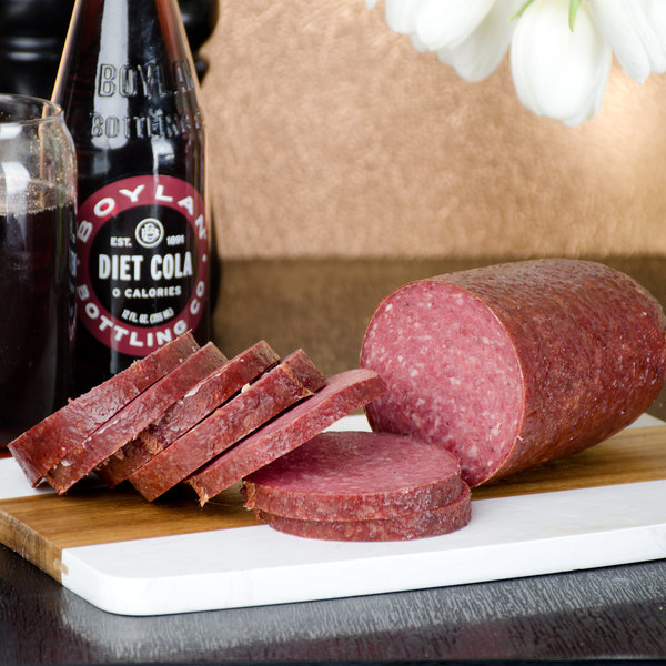Groff's Meats 2 lb. Sweet Bologna Small Midget
