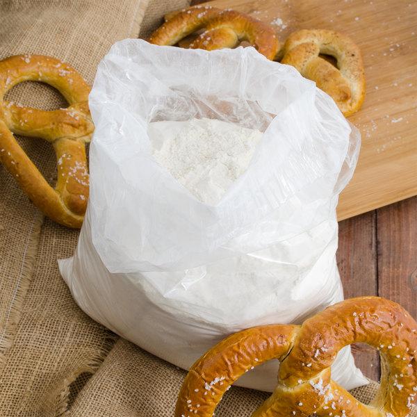 Soft pretzels with bag of soft pretzel mix