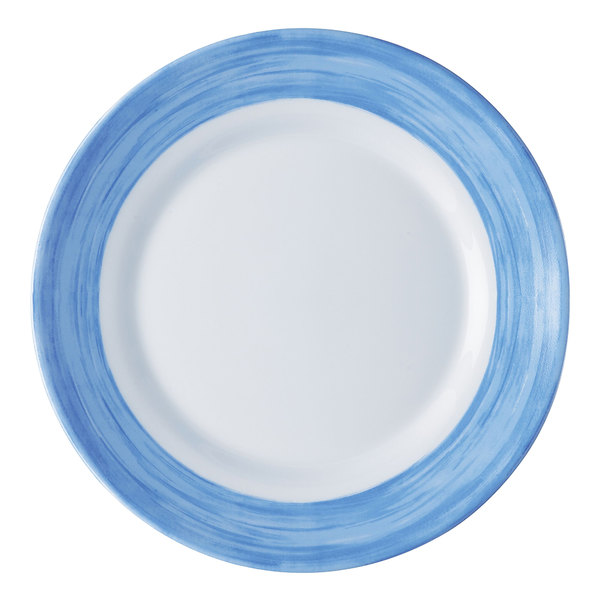 Arcoroc C3773 Opal Brush Blue 10