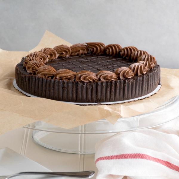 "Pellman 9"" Chocolate Truffle Torte - 6/Case"
