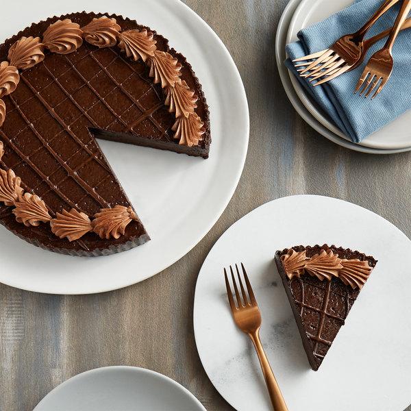 "Pellman 9"" Chocolate Truffle Torte - 6/Case Main Image 1"